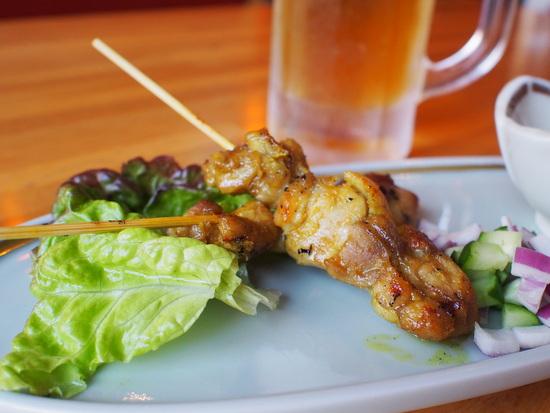 カレー風味の焼き鳥、マレーサテ