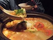 わさびのトマト鍋