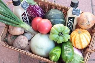 「May MARCHE」色とりどりの野菜たち