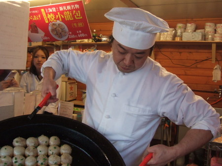 焼小龍包で人気の「大山生煎店」