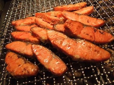 鮭やシシャモ