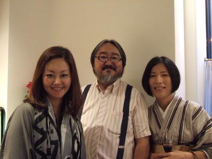 おかみさんや千石さん、レポーター等で活躍中の 竹本アイラさん