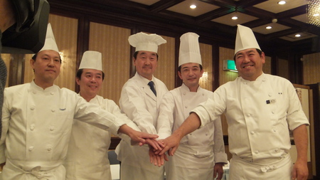 各ホテルの料理長