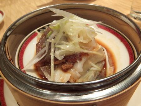 白身魚と豆腐の蒸し物陳皮の香り