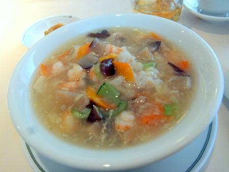 五穀米入り五目スープご飯