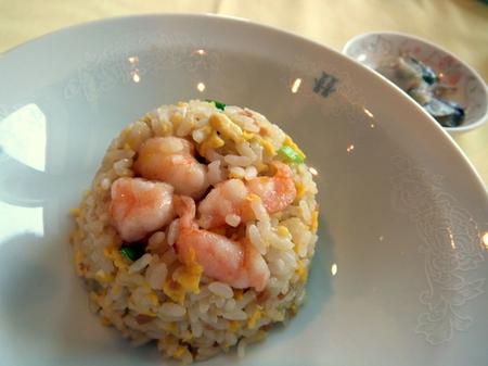 【札幌パークホテル】「生姜醤油の炒飯」
