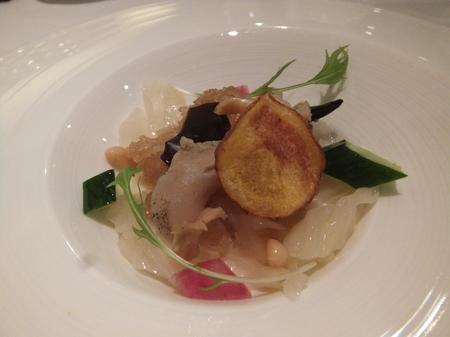 【京王プラザホテル札幌】「クラゲと黒木くらげのコラーゲン料理」