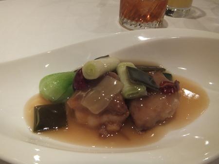 【京王プラザホテル札幌】「カスベと葱・生姜の体を温める料理」