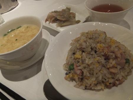 【京王プラザホテル札幌】「鶏肉と五穀米のヘルシー炒飯」