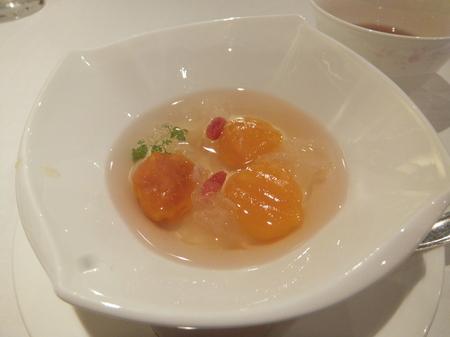 【京王プラザホテル札幌】「南瓜団子と白きくらげのホット生姜シロップがけ」