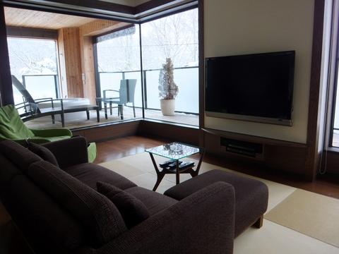 【しこつ湖鶴雅リゾートスパ水の謌】テラスに展望シルキーバス付きの「準特別室」