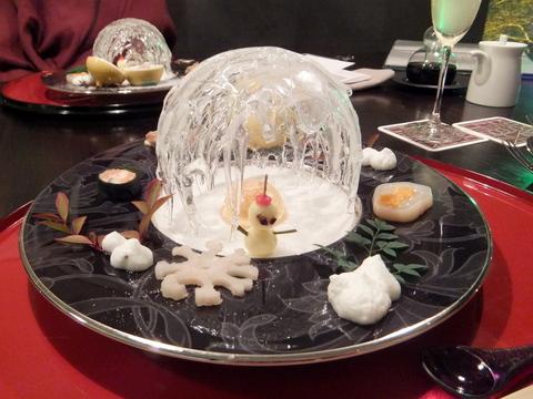 【望楼NOGUCHI函館】前菜は「道南の冬」