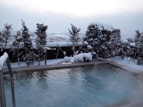 【望楼NOGUCHI函館】雪見露天
