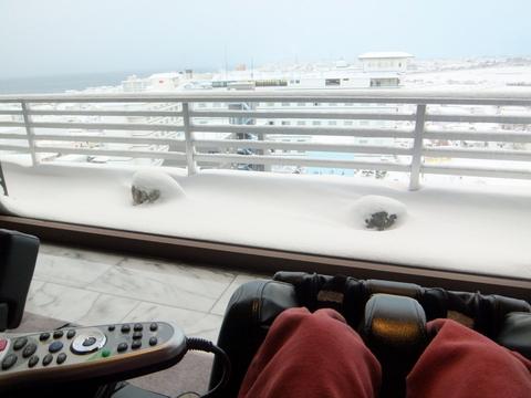 【望楼NOGUCHI函館】最上階ラウンジから見渡す眺め
