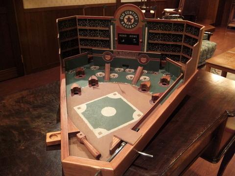 【望楼NOGUCHI函館】レトロな野球盤