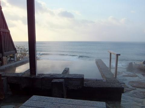 【海の別邸 ふる川】露天のとなりにある寝湯