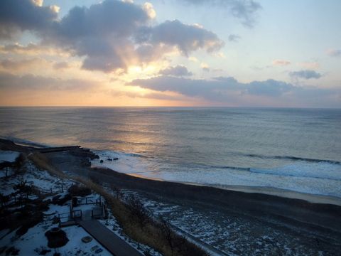 【海の別邸 ふる川】日の出