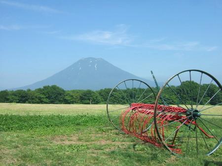 【ニセコミルク工房】羊蹄山撮影スポット