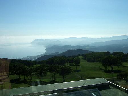 【ウィンザーホテル洞爺】660号室から眺める内浦湾