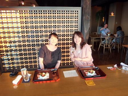 【ウィンザーホテル洞爺】館内をすみずみ案内してくださった、浜田さんとのお食事