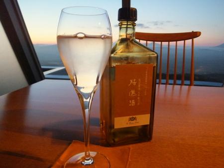 【ウィンザーホテル洞爺】日本酒は、オリジナルの「将進酒」