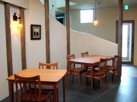 旭川家具のテーブルセット