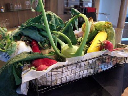 とれたての自家製野菜