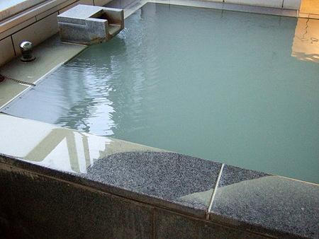 客室の展望風呂