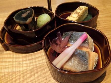 釧路産大助の塩焼きなど、焼魚や煮物