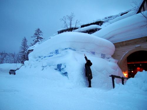 旭岳温泉「ラビスタ大雪山」氷のドーム