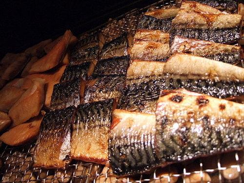 炉端風の焼き魚