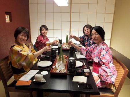 「鶴雅別荘 杢の抄」夕食