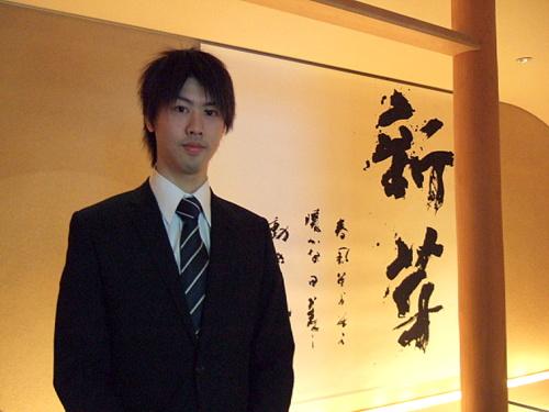 「Spa&Esthetique 翠蝶館」書家の長谷川悠貴先生