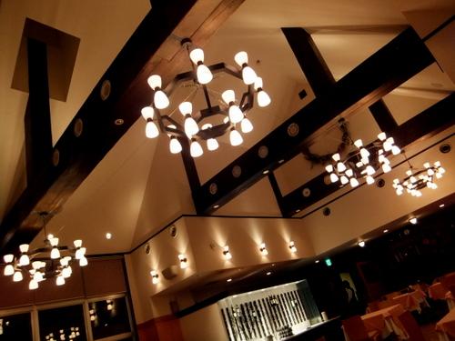 丸瀬布温泉「マウレ山荘」レストラン