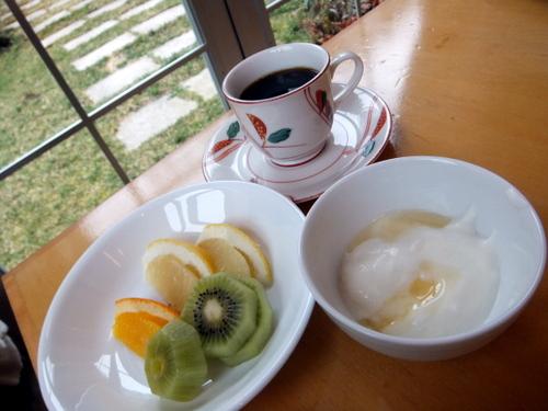 朝食バイキング ヨーグルト&蜂蜜