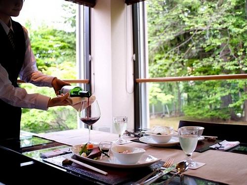 「翠蝶館」レストラン