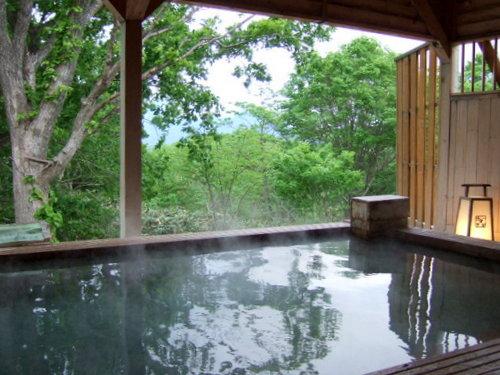 「ナチュラルリゾート ニセコワイスホテル」大浴場