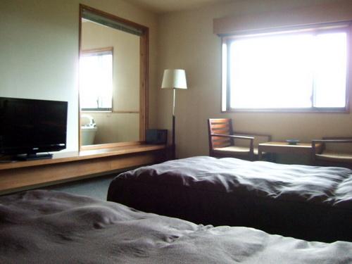 「ナチュラルリゾート ニセコワイスホテル」展望ジャグジー付き40平米