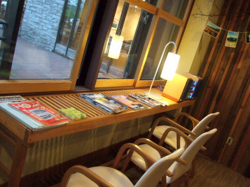 「ニセコワイスホテル」フロント