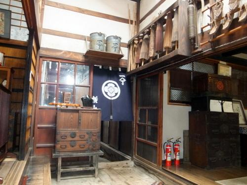 北海道文化遺産でもある「横山家」