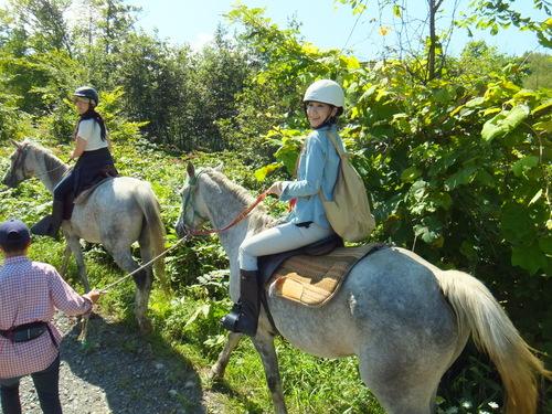 アラビアンホースプランテーション 乗馬