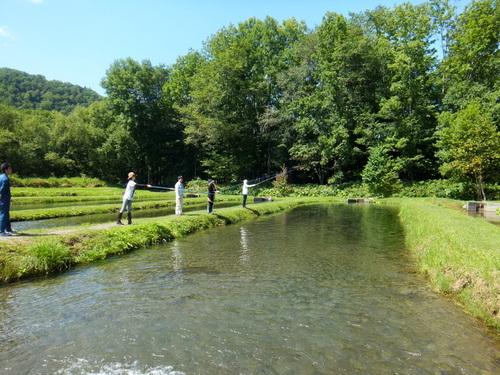 釣り体験開始!