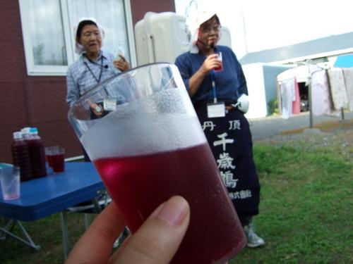 手作りの赤紫蘇ジュース