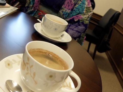 「きたいっしょモニターツアー」白樺の樹液入りの白樺コーヒー