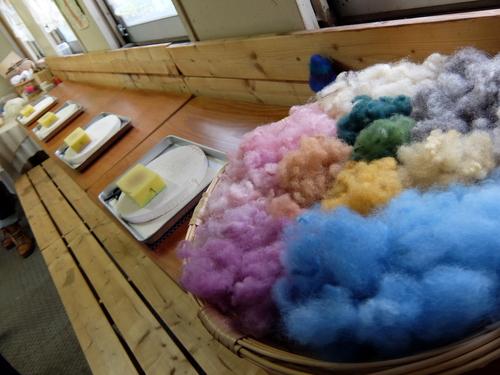 「きたいっしょモニターツアー」羊毛体験できるお店「Kancusha」(カンキューシャ)