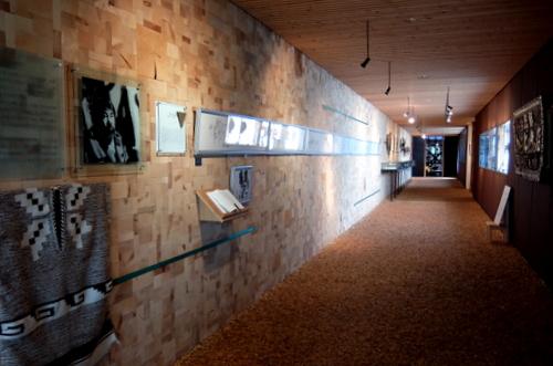 エコミュージアムおさしまセンター「砂澤ビッキ記念館」