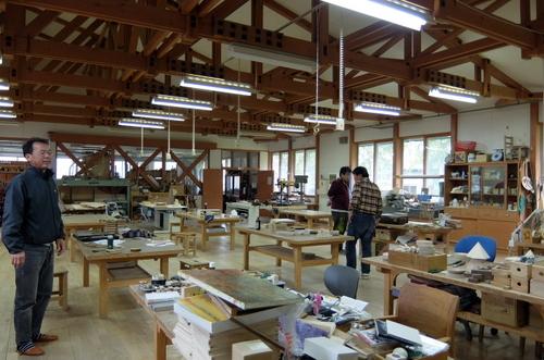 「きたいっしょモニターツアー」木遊館で木工体験