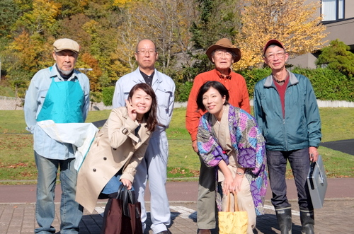 「きたいっしょモニターツアー」中川町キノコ狩り体験の様子