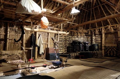 「北海道博物館~森のちゃれんが」アイヌ民族の生活の様子