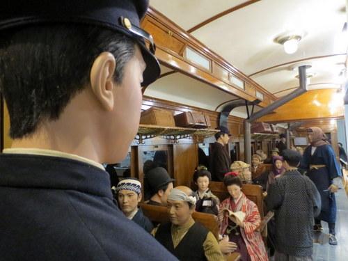「北海道博物館~森のちゃれんが」大正時代のストーブ列車